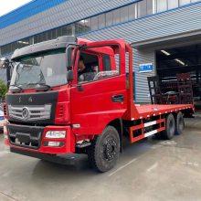 厂家直销180马力楚风单桥挖机拖车可运输18吨挖机的拖车
