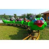 郑州智宝乐厂家直销儿童游艺设施游乐设备青虫滑车