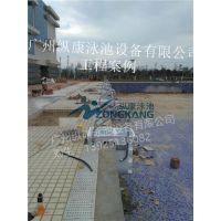 广州游泳池设计_水处理设备_健身房钢结构拆装式泳池设计