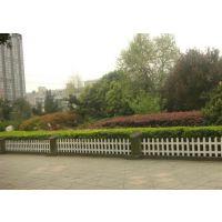 PVC园艺护栏绿化带护栏草坪护栏鱼塘护栏五一围栏栅栏