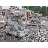 供应石麒麟,青石花岗岩石雕麒麟神画石雕厂