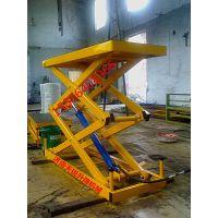运城运输杂物液压升降货梯效果图 哪有卖液压升降货梯的厂家天锐