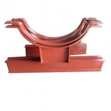 生产管道长管夹 碳钢焊接双板