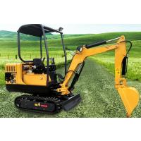 高标准0.8吨履带挖掘机启动容易转向灵活1吨迷你型果园农田挖土机