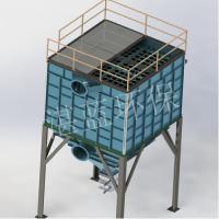 供应湛蓝环保定制的各种型号旋风除尘器(铸造厂专用除尘器)
