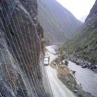 乌鲁木齐山体护坡网施工,新疆钢丝绳网厂家