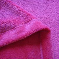 厂家直销短毛绒 超柔绒布 玩具床上用品婴儿服装面料