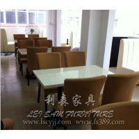 龙华咖啡厅桌椅酒吧桌奶茶店甜品店桌椅 饭店餐桌