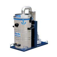 固定式50L单桶工业吸尘器|上海凯德威三相电立式工业吸尘器DL-1250
