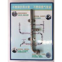 国标304不锈钢薄壁卡压水管 卫生级饮用水管 卡压式管件现货供应