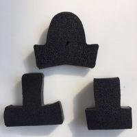 厂家批发 加气砌块模框密封条 T型橡胶发泡条 梯形橡胶条