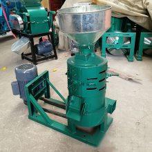 立式碾皮机 小米谷子碾米机 砂轮干净磨米机