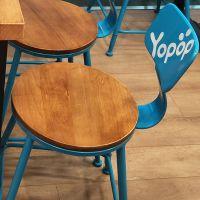 张家口市西餐桌椅,欧式复古铁艺餐桌椅多色可选