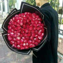 竹溪大道情人节鲜花竹溪大道19朵玫瑰花15296564995配送爱人恋人鲜花