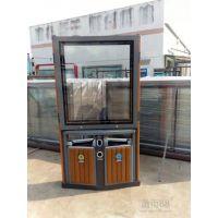 南宁广告垃圾桶供应商,南宁广告垃圾箱 太阳能垃圾桶图片 报价