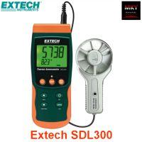 美国Extech SDL300手持式带数据记录功能金属叶轮式风速仪
