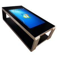 鑫飞XF-GG43MC 43寸液晶显示器触控一体机现代智能茶几多功能洽谈桌纯平面触摸查询网络播放器