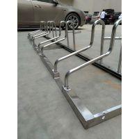 不锈钢卡位式停车架厂家定制