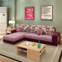 北京转角组合贵妃沙发 酷可斯休闲布艺沙发品牌