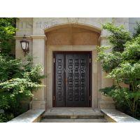 供应防盗门 梵蒂斯——墨艺德式铜门 八方来财 甲级安全防盗别墅门 入户门