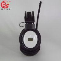 专业供应BS-218A英语六级听力耳机 四级耳机 头戴式耳机 厂家批发