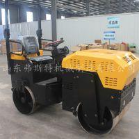 2吨双钢轮压路机图片 小型座驾压路机包邮价格