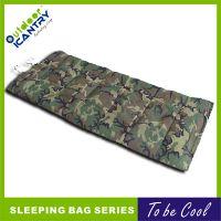 厂家直销 户外野营 军绿阅兵 迷彩睡袋 超轻保暖户外睡袋