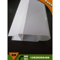 挤塑加工ABS共挤异型材 开模定做ABS异型材 塑胶制品厂直销PC灯罩