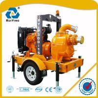 拖车式移动泵车 防汛抢险排水泵车 大流量移动泵车 柴油机水泵