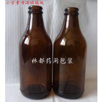 300毫升棕色酒瓶林都现货供应