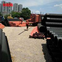 湖南邵阳PE波纹管 排污管质量保证 龙虾养殖管 HDPE双壁波纹管