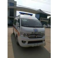 救护车厂家销售 福田G7国五长轴救护车 120医院急救转运救护车