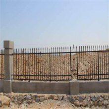 PVC围墙护栏 建筑小区护栏网 锌钢栅栏