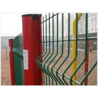桃型柱防护网 小区围栏网 铁丝网围栏