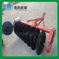 水田用1LYQ系列驱动圆盘犁四轮拖拉机犁地犁大型农用耕种机械厂家直销