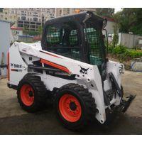 供应美国原装进口山猫【BOBCAT】轮式滑移装载机 扫地机 多功能工程车
