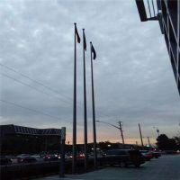 耀恒 厂家定做 户外不锈钢国旗杆 学校旗杆 公司旗杆 8米9米12米15米