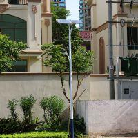福建单位电灯柱高度 防生锈道路灯耗电量 球场金卤灯杆报价