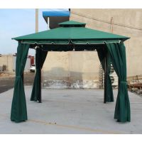 西安太阳伞制作 凉亭伞安装 折叠伞帐篷四角凉棚做字 陕西景区景观伞销售