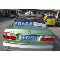 上海锦江出租车广告怎么做?