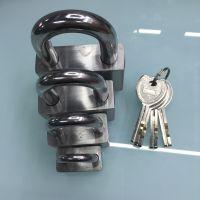 挂锁 通开挂锁 304不锈钢挂锁  国家电网电力表箱锁  厂家直销