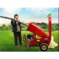 汽油树枝碎枝机 可移动树枝粉碎机