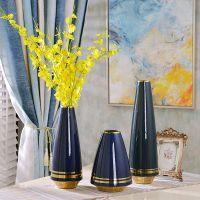 陶瓷花瓶摆件 陶瓷工艺品批发 大花瓶