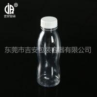 380ml毫升透明塑料包装瓶 PET380g液体直身饮料瓶 牛奶瓶