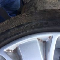 供应12款路虎揽胜运动版原装钢圈轮胎一套拆车件