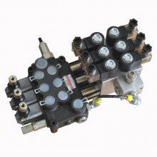DCV40-2路手动电液控多路换向阀-38G-S1(3位双作用)