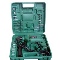 供应套装电动工具13冲击可调速多功能家用式手电钻