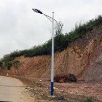 珠海市道路灯图片 LED灯杆光通量多少 公园照明灯送货安装