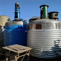 供应转让二手全新10吨搪瓷反应釜 ,二手不锈钢 电加热