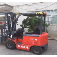 上海八九成新二手合力1.5吨冷库用小电动叉车价降价处理